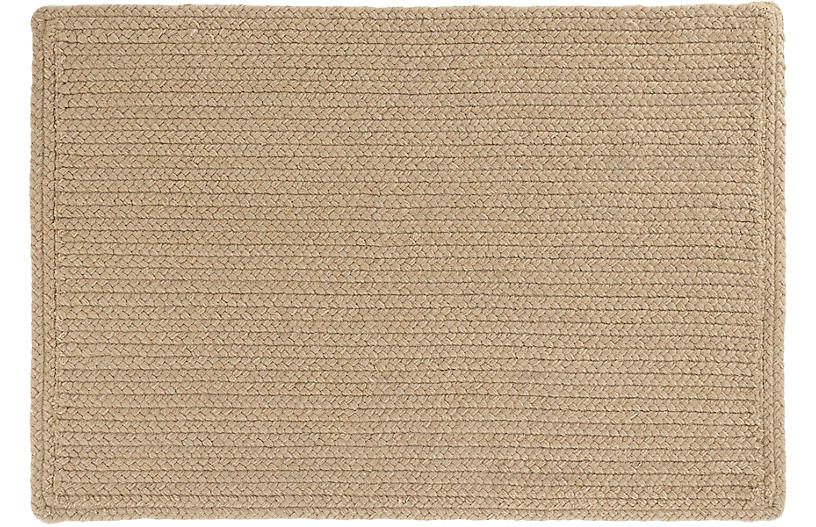 Rio Braided Indoor/Outdoor Rug, Natural