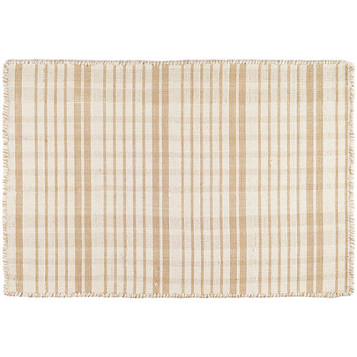 Guilford Handwoven Rug, Wheat