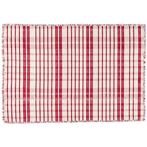 Guilford Handwoven Rug, Red