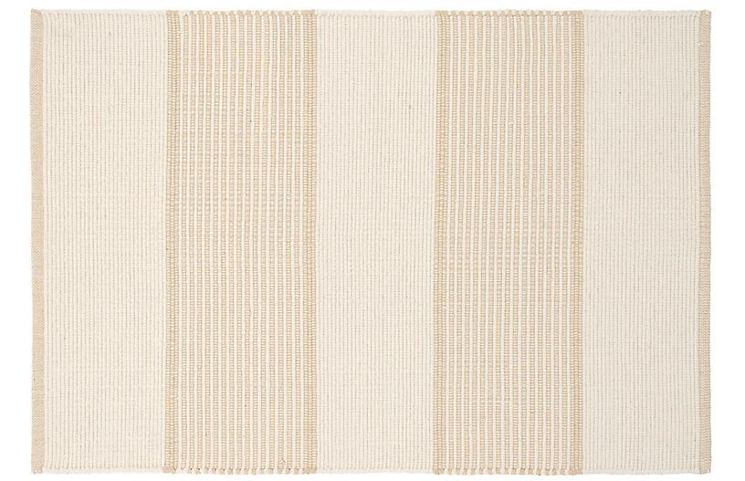 La Mirada Handwoven Rug, Wheat