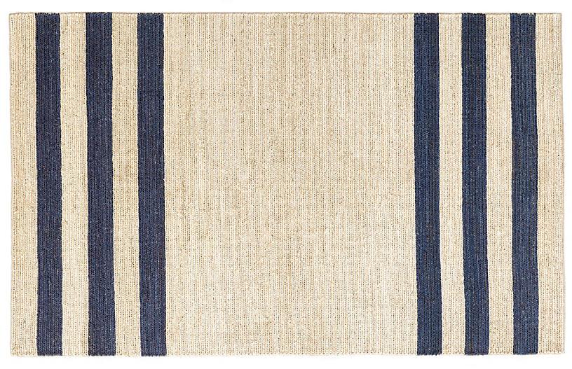 Ipswich Handwoven Rug, Blue