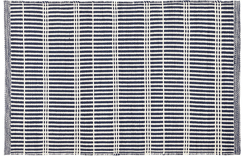 Marlo Indoor/Outdoor Rug, Navy