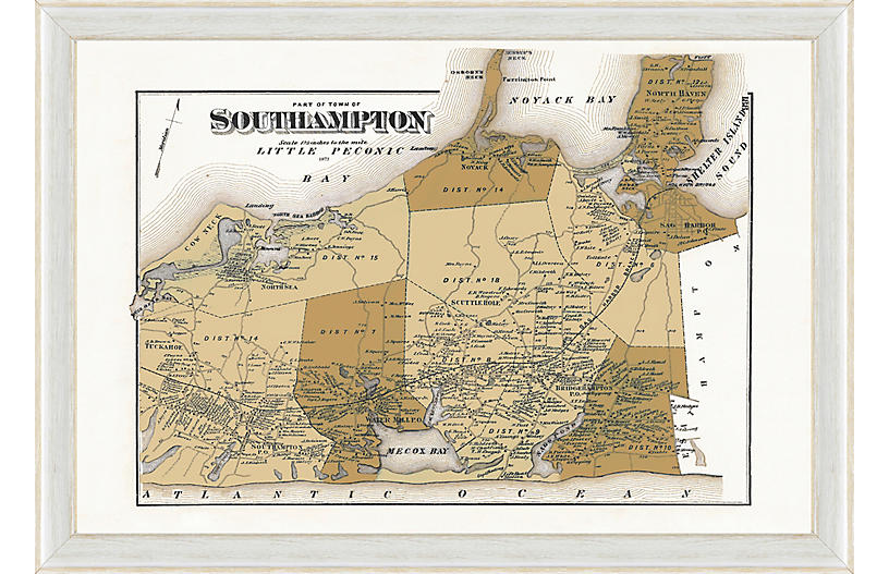 South Hampton Map