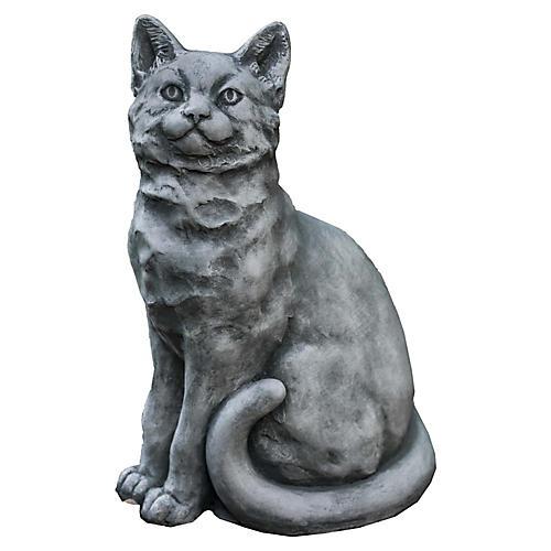 "14"" Mimi Outdoor Statue, Alpine Stone"