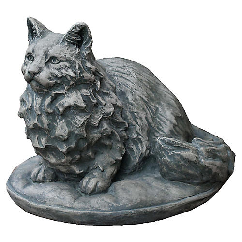"15"" Duchess Outdoor Statue, Alpine Stone"