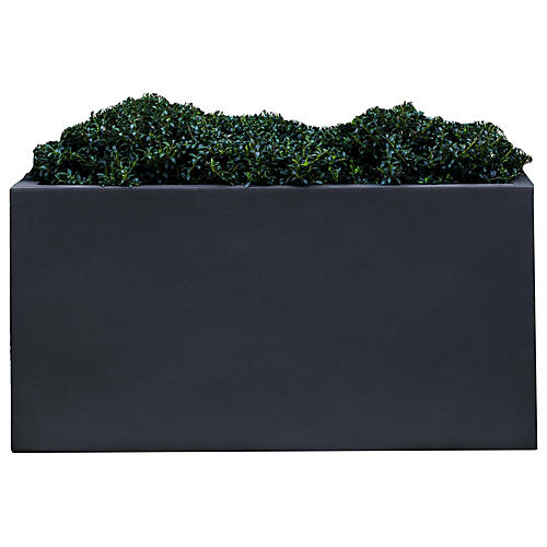 "28"" Sandal Outdoor Planter, Lead"