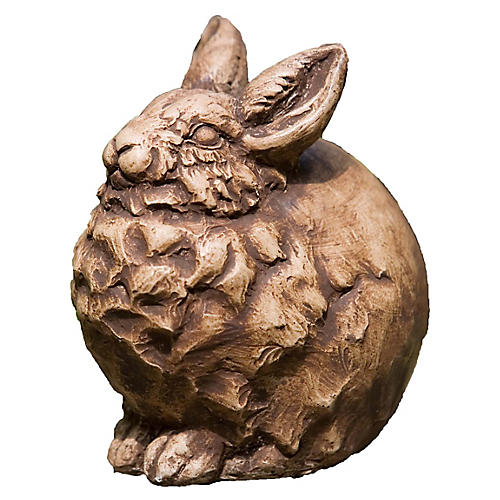 """7"""" Snowball Outdoor Statue, Brownstone"""