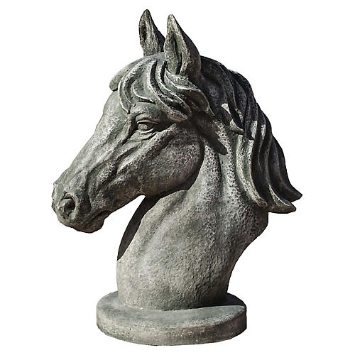 "20"" Spirit Outdoor Statue, Alpine Stone"