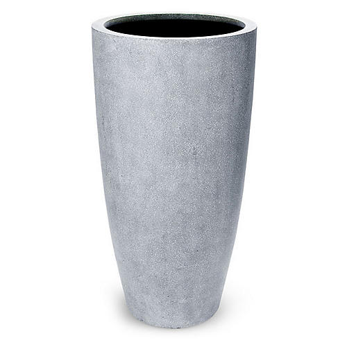Coco Outdoor Planter, Gray