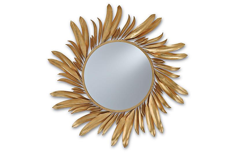 Folium Mirror, Gold Leaf