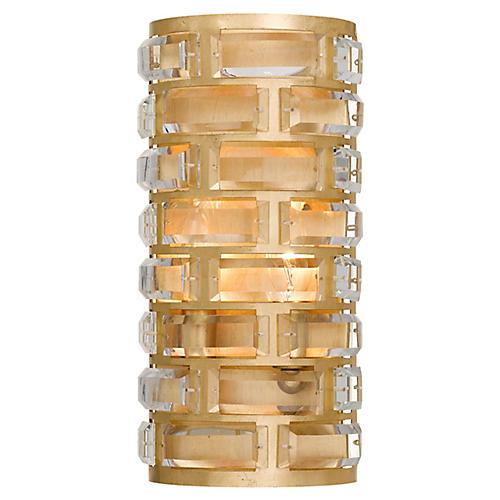 Meridian 4-Light Sconce, Antiqued Gold
