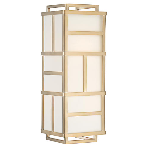 Danielson 4-Light Sconce, Vibrant Gold