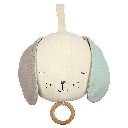 Lullaby Pooch Baby Toy, Ivory/Multi