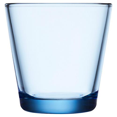 S/2 Kartio Tumblers, Aqua