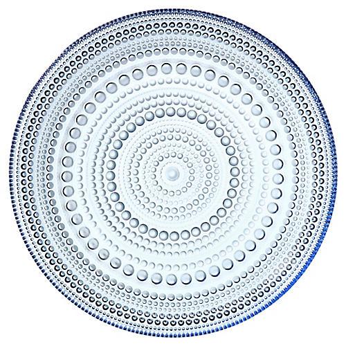 Kastehelmi Plate, Aqua