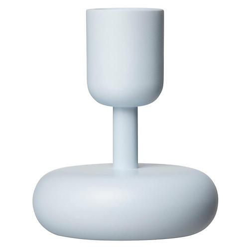"""4"""" Nappula Small Candleholder, Aqua"""
