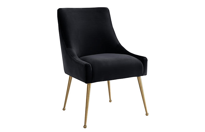 Georgia Side Chair, Black