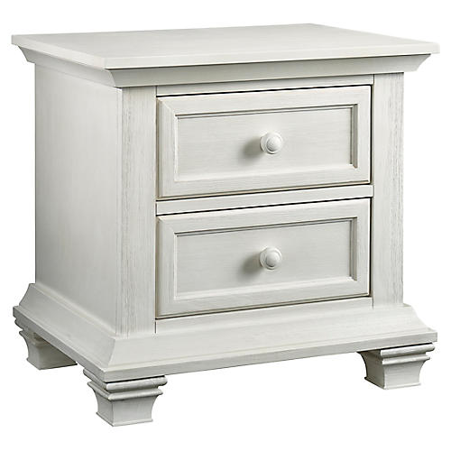 Madison Nightstand, Vintage White