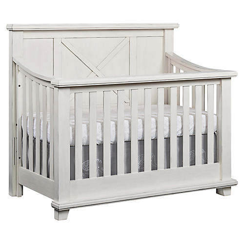 Austin Crib, Heirloom White