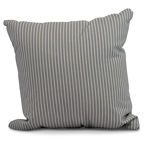 Kinsey Stripe Pillow, Navy