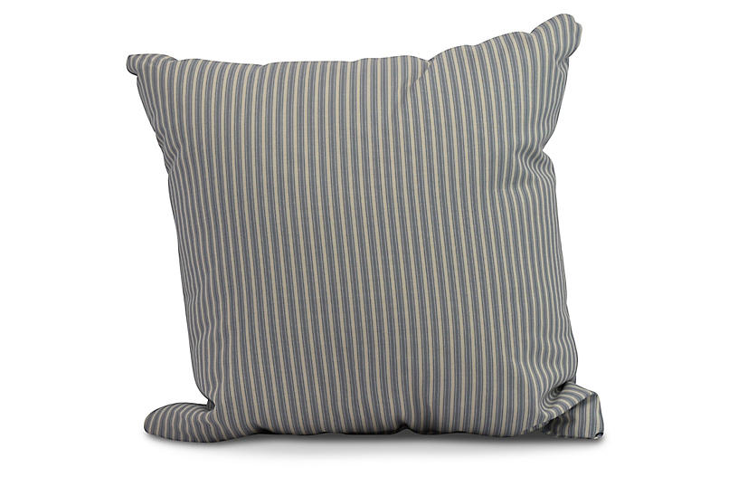 Kinsey Stripe Pillow, Navy