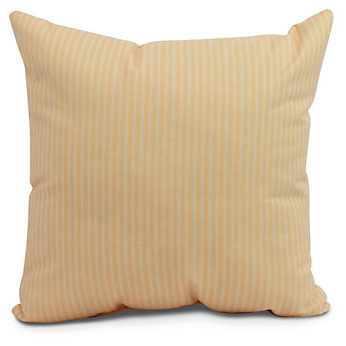 Kinsey Stripe Pillow, Yellow