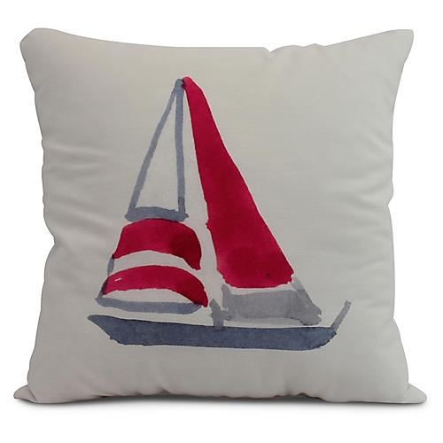 Schooner Pillow, Ivory