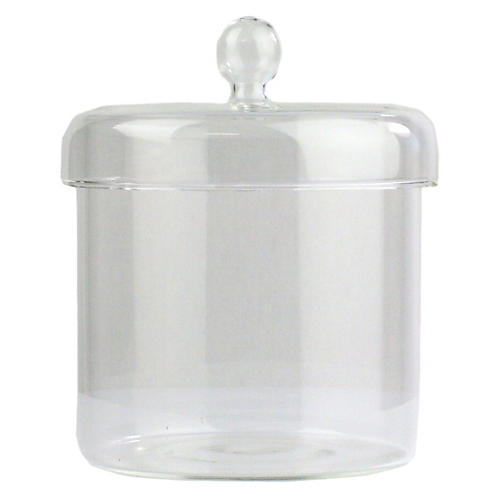 Arora Medium Jar, Clear