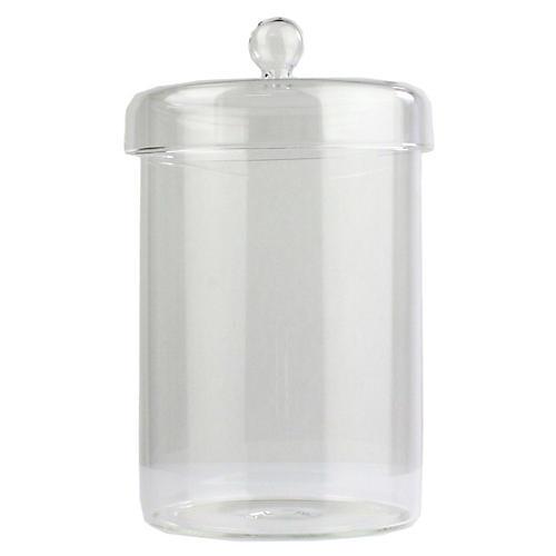 Arora Large Jar, Clear