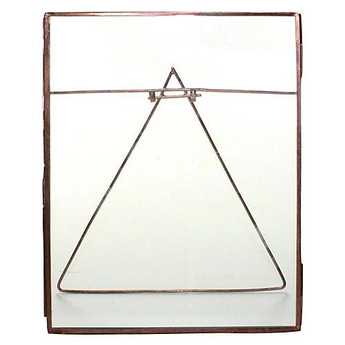 Lecce Vertical Easel Frame, Copper