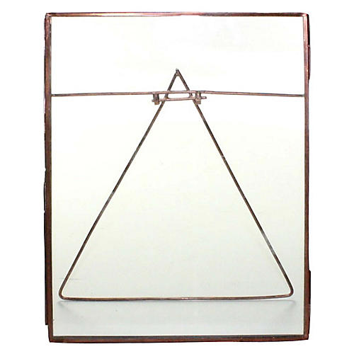 Lecce Vertical Easel Frame, Copper