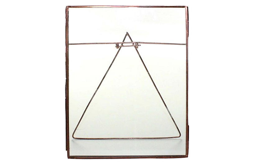 Lecce Vertical Easel Frame, Copper - Picture Frames - Home Accents ...