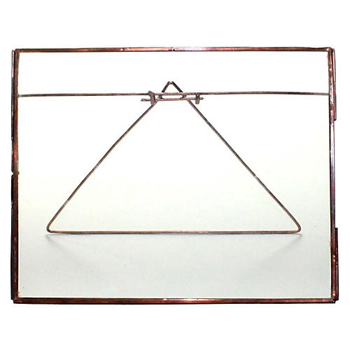 Lecce Horizontal Easel Frame, Copper