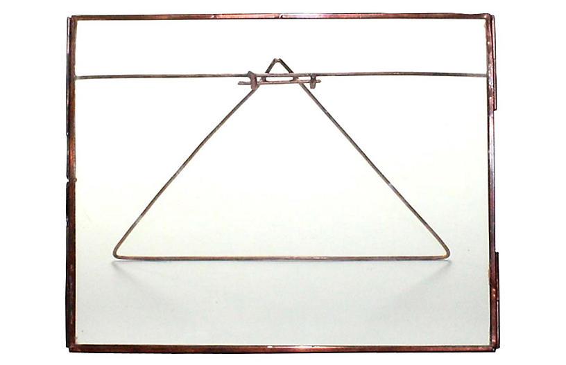 Lecce Horizontal Easel Frame, Copper