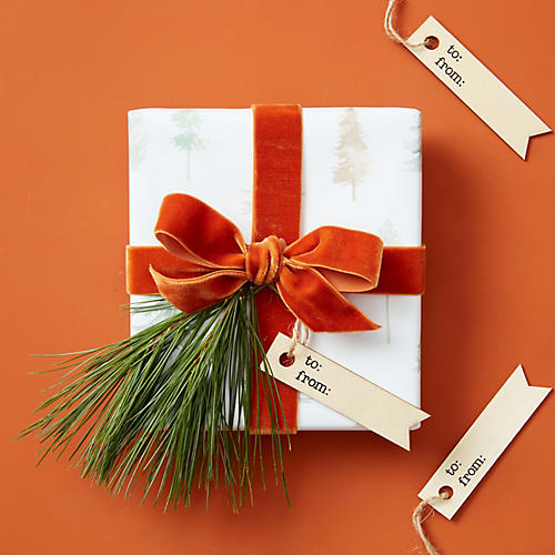 S/12 To & From Wooden Gift Tags