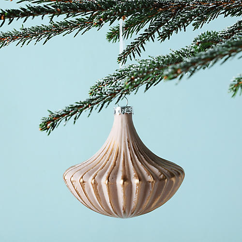 Chandelier Ornament, Rose Gold