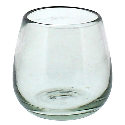 Howery Wineglass, Clear