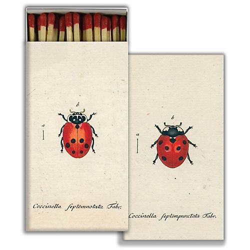 Ladybug Match Set, Red