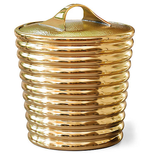 Buckingham Ice Bucket, Gold