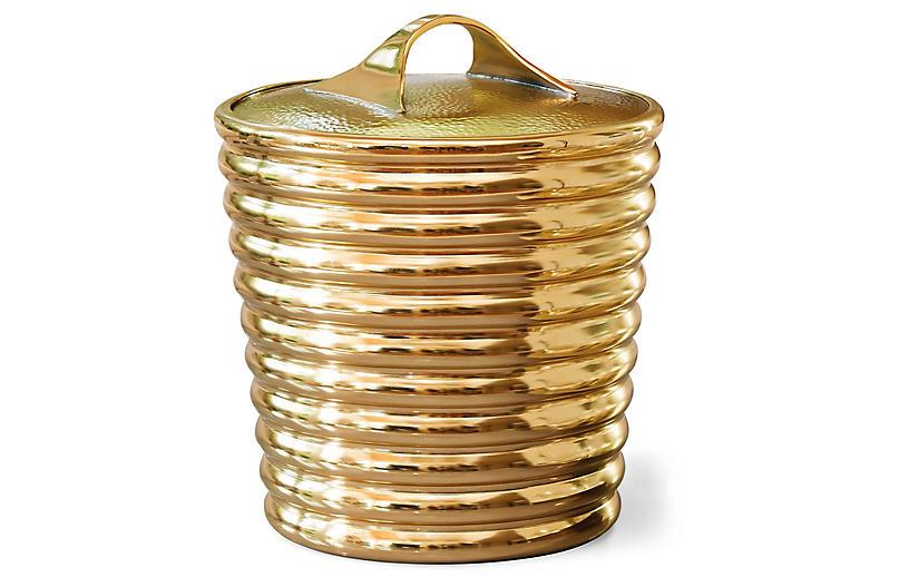 Buckingham Ice Bucket, Gold