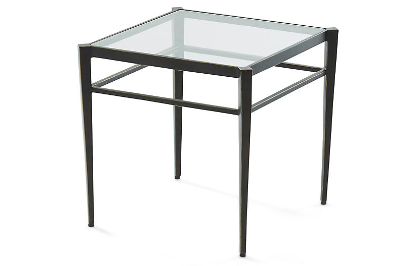 Lescot Small Side Table Gunmetal Side Tables Under 300 Shop By