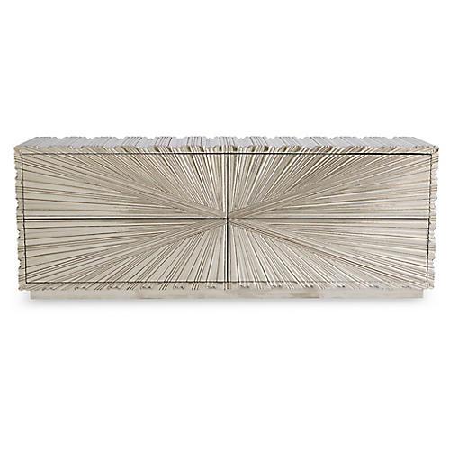 Fold Sideboard, Silver