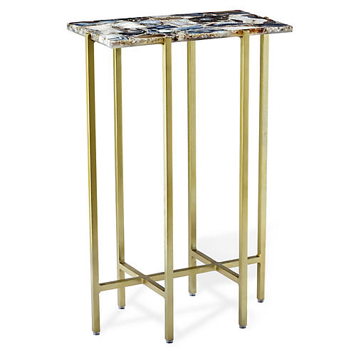 Leonie Side Table, Gray