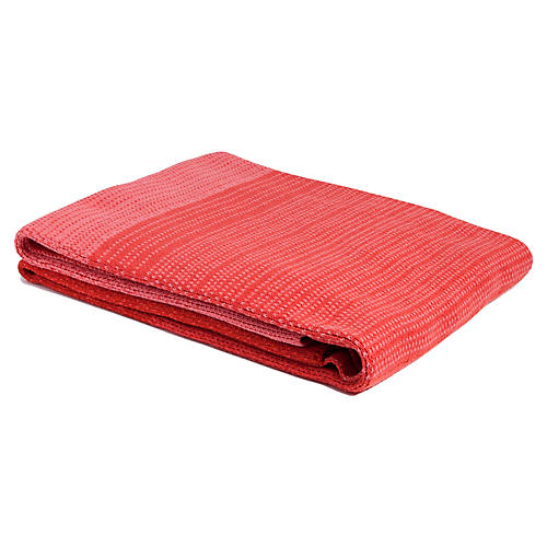 Ombré Outdoor Throw, Orange