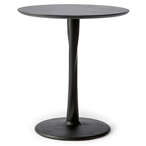 Torsion Dining Table, Black