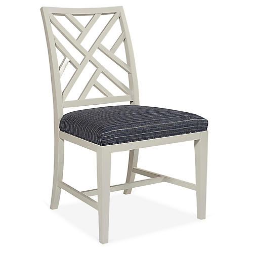 Glenn Side Chair, Navy