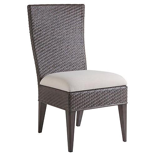Cadence Side Chair, Vanilla Linen
