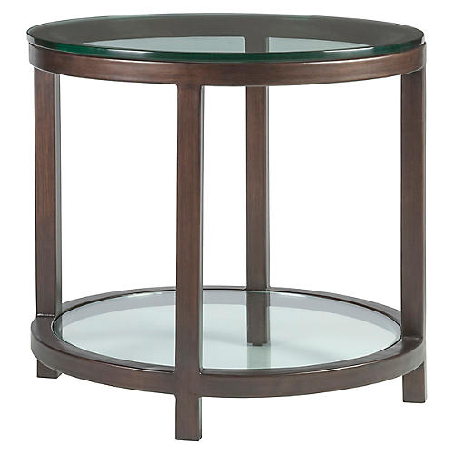 Per Se Side Table, Antiqued Copper
