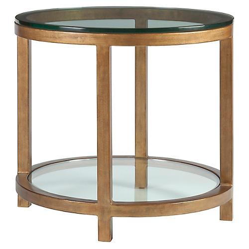 Per Se Side Table, Renaissance Gold