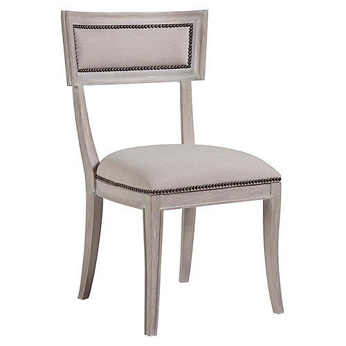 Apertif Side Chair, Bianco White